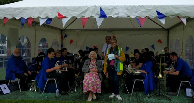 Queen's 90th birthday celebration, Stoke Mandeville