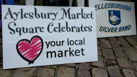 Love Your Market Day at Aylesbury Market Square